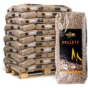 Pellets zum Heizen . 15 Kg sack